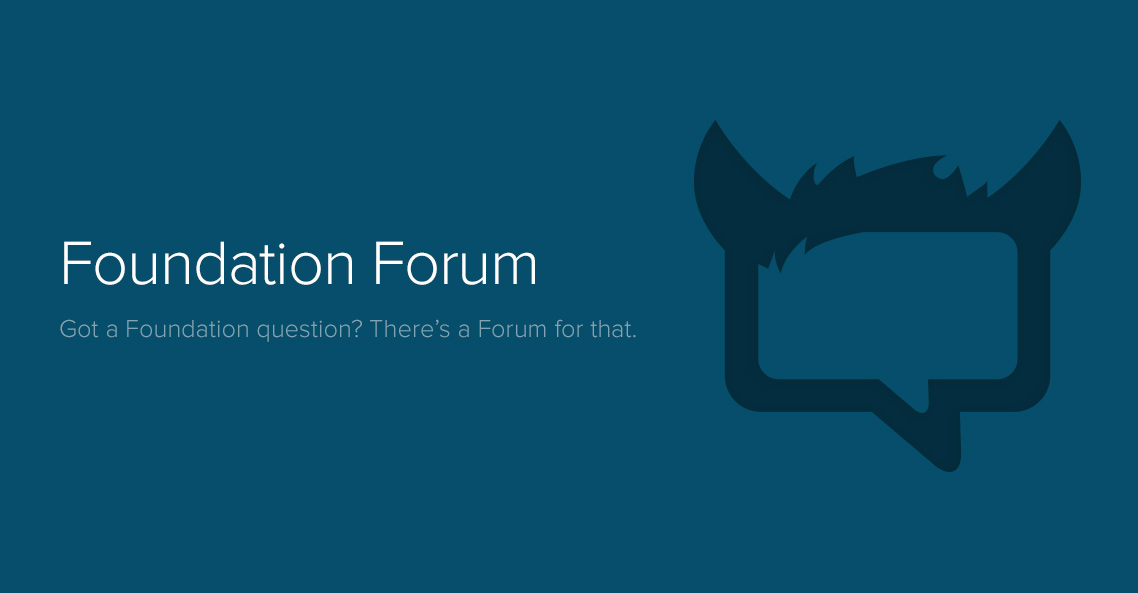 Foundation zurb