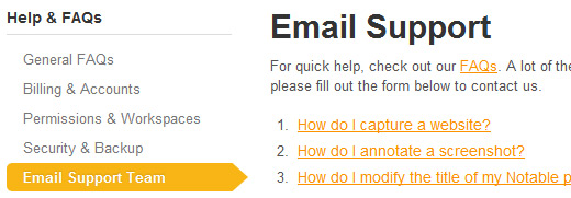 Email.support