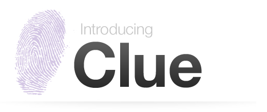 Clue blog header