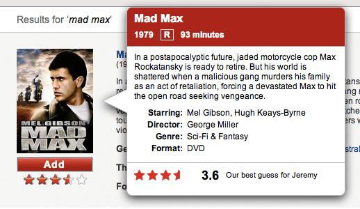 Netflix ui moment