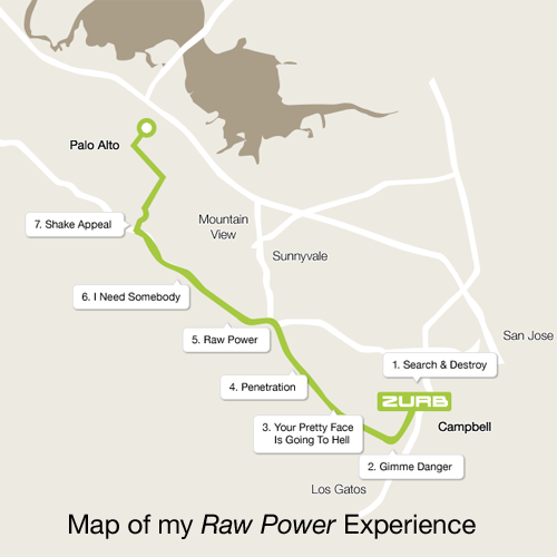 Raw power map