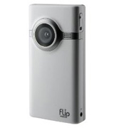 The White Flip Mino Video Recorder