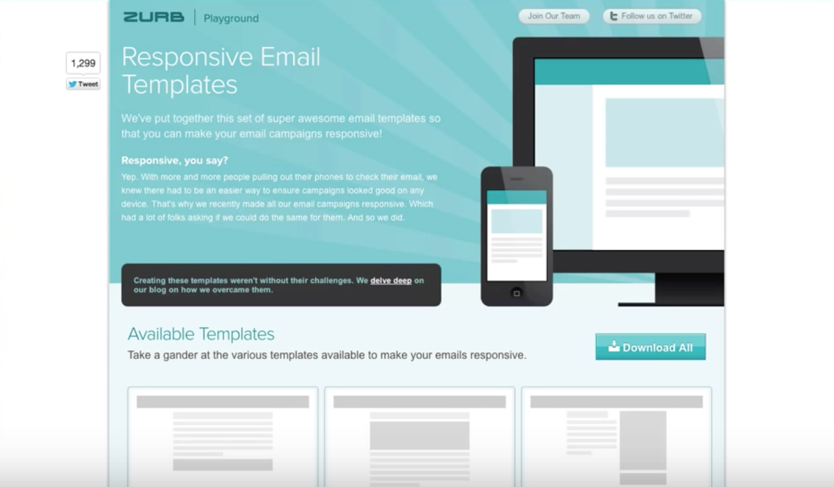 Zurb A Tutorial On Responsive Email Templates