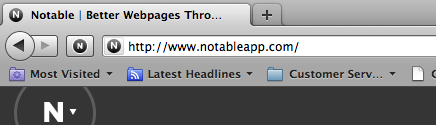 Notable toolbutton