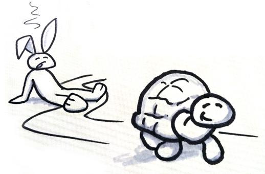 Tortoise v hare